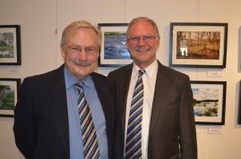 Cr John Drew and Cr Dennis Nuhovics