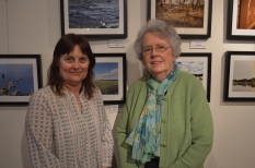 Cr Sharon Cox and Cr Gwenda Lawlor