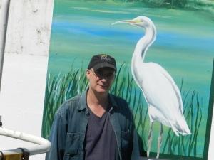 Artist Peter Dunn
