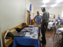 Mt Gambier Prostate Cancer information stall