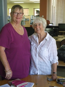 Marl Domaschenz and Linda Bootherstone