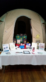Rotary Shelter Box display