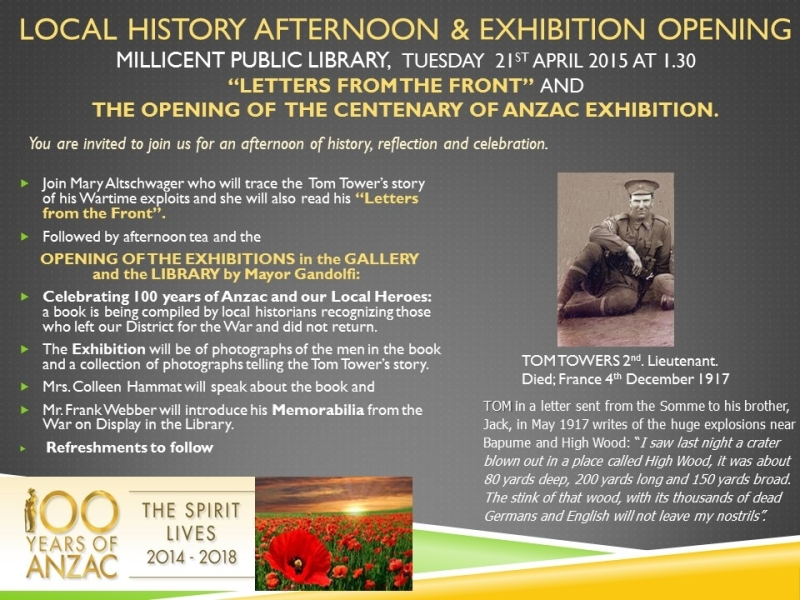 anzac exhibition