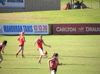 Jess kicking