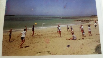 The family beach of yesteryear