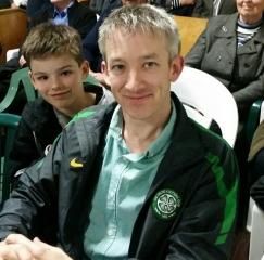 Alan O'Connor and son Lugh