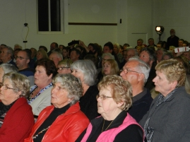 250 crowd filled the hall