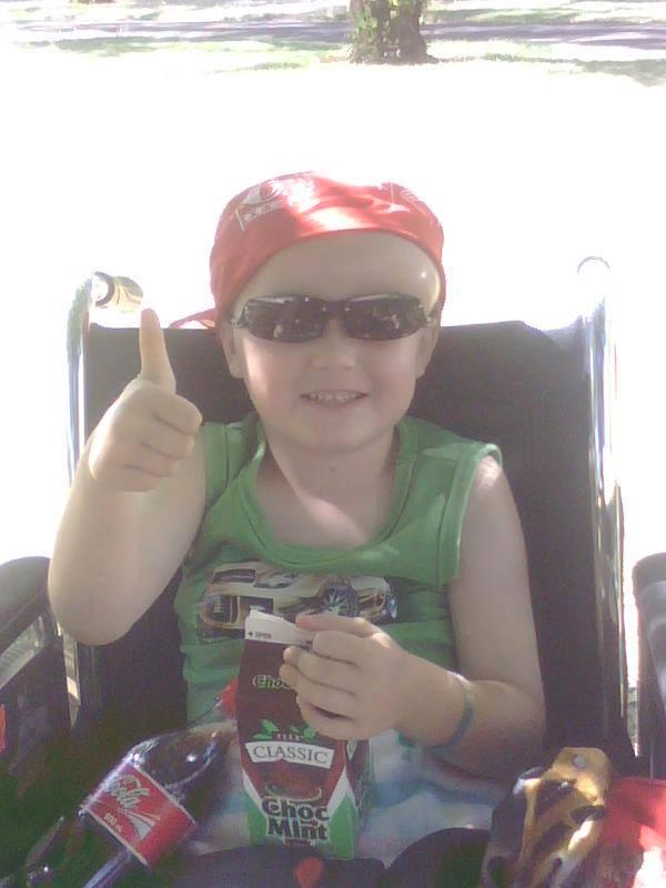 Ryan after surgery